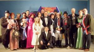"""LA Compagnia Apri il tuo sipario nello spettacolo -  """"La Ricchezza della Povertà"""" , regia di Gilberto Bettoal Teatro La Creta  di MILANO."""